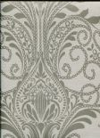 Sloane SketchTwenty3 Wallpaper Sloane Damask Taupe SL00808 By Tim Wilman For Blendworth